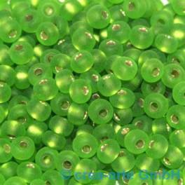 Rocailles 4.5mm silbereinzug matt hellgrün 20g_1022
