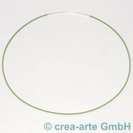 Spiralhalsreif apfelgrün, Steckverschluss 45cm_1051