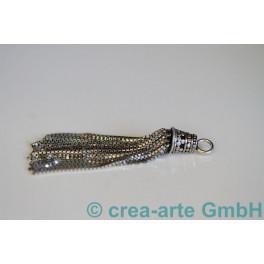 Quaste Silber 925 19 Zottel 60mm_1052