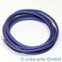 Fil en cotton 2mm  1m violet