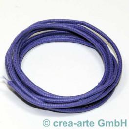 Baumwollriemchen 2mm 1m violett_1055