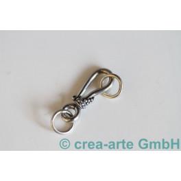 Ringverschluss 925er Silber mit Ring, 30mm_1342