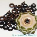 Perlenhülsen kupferfarbig 5mm 50 Stück