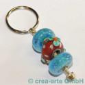 Schlüsselanhänger für 4&5mm Perlen, 55mm