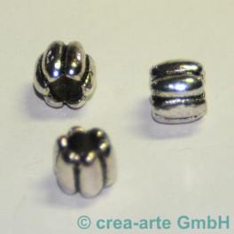 Metallperlen, 9x8mm, Bohrung 3.5mm, 3 Stück_1423