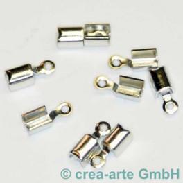 Klemmverschluss 2mm versilbert 10 St._1425