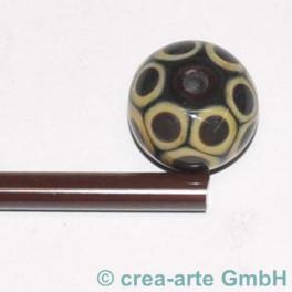 Moretti rosso cangiante 5-6mm, 1m_1501