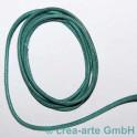 Fil en cotton 3mm, 1m turquoise