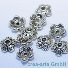 Metallkappen 12mm  Loch 2mm 10 St._1572