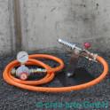 Chalumeau Minor monté avec tube et régulateur de p