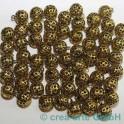 boule 13mm couleur dorée, 60 p.