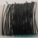 Baumwollriemchen gewachst, 1mm, schwarz, 10m_1619
