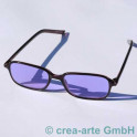 Didymium Schutzbrille korrigiert 1,0 Dioptrin