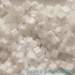 Murrine effetre bianco-cristallo 50g. 5-6mm_2026