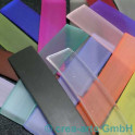 PVC rubans 15mm 8cm 9 p. dif. couleures