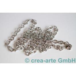 Halskette mit Karabiner, 80cm_2086