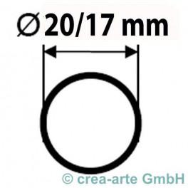 Boro Rohr D=20mm Wanddicke 1.5mm_2094