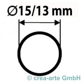 Boro Rohr D=15mm Wanddicke 1mm_2102