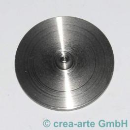 Flanscheibe 35mm zu Perlmacherdorn mit Gewinde_2205