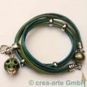 Magnetverschluss Kugel, 12mm oliv