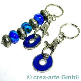 Schlüsselanhänger mit Chips, blau_227