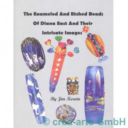 The enameled and etched Beads of Diana E_235