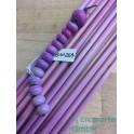 Handmade rosa fuxia EDP 5-6mm