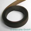 PVC ruban 15mm 1m brun