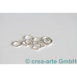 Biegeringe gelötet Silber 925  6mm, 10 St._254