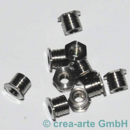 Fingerring Muttern SW5mm, 5mm lang 10 Stück_2667