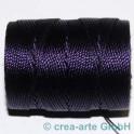 Knüpfgarn-Spule Purple