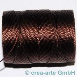 Knüpfgarn-Spule Brown_2691