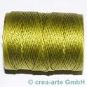 Knüpfgarn-Spule Chartreuse