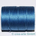 Knüpfgarn-Spule Caribbean Blue
