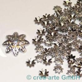 GP Metallkappen 12mm silberfarbig, 100 Stück_2727