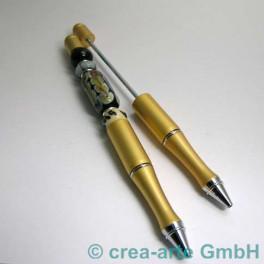 Perlenkugelschreiber gold_276