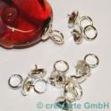 pendant pour perles avec 1 trou, 11x7mm