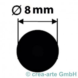 Borosilikatglasstange klar 8mm150cm Kg_2889