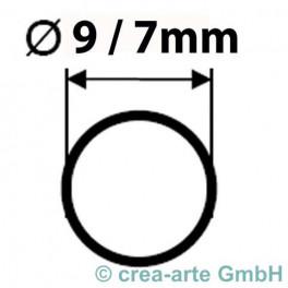Boro Rohr D=9mm Wanddicke 1mm kg_2896