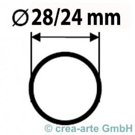 Boro Rohr D=28mm Wanddicke 2mm kg_2902