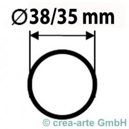 Boro Rohr D=38mm Wanddicke 1.5mm kg_2903
