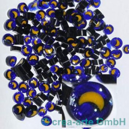 Murrine effetre luna gialla 50g. ca.5-8mm_2974