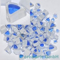 Murrine effetre t blau-weiss 50g. ca.4-8mm