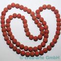 Koralle gefärbt rund 8-10mm, 1 Strang