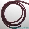PVC rund hohl 4mm 1m rosa