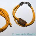 Nappa Style 4mm, 1m gelb_3039