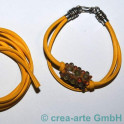 Nappa Style 4mm, 1m, jaune