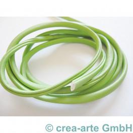 Nappa Style 4mm, 1m, grün_3055