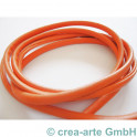 Nappa Style 4mm, 1m, orange