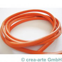 Nappa Style 4mm, 1m, orange_3064
